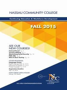 2015 Fall Brochure Nassau Community College