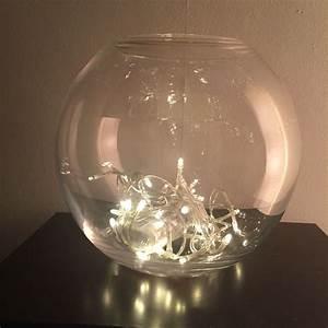 Lsa, Circle, Vase, With, Fairy, Lights