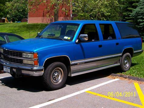 1992 Chevrolet Suburban  Information And Photos Zombiedrive