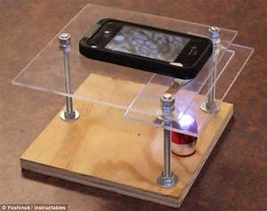 DIY smartphone MICROSCOPE: Turn your mobile into expert