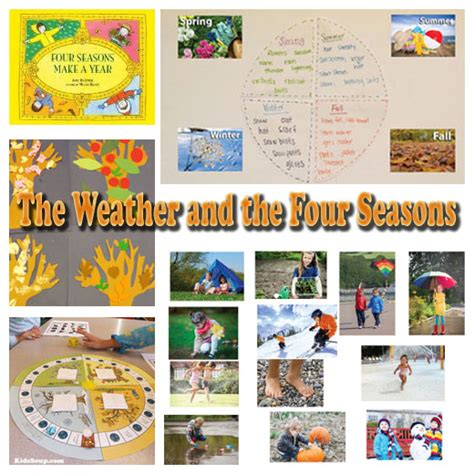 weather activities and kidssoup 446 | Weather Four Seasons KS 0