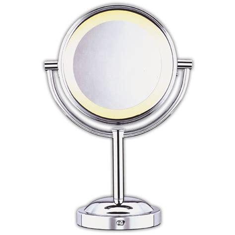 conair 5x magnified lighted makeup mirror conair double sided 5x 1x lighted makeup mirror mirrors