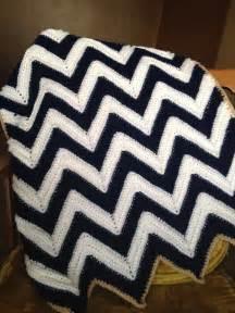 Free Crochet Baby Chevron Afghan Pattern