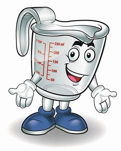 Measuring Cup Clipart Water Volume Liquid Measure