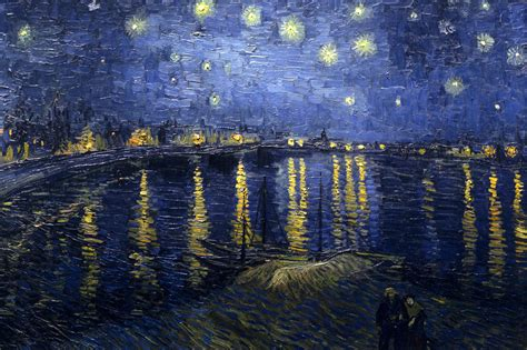 Pink Floyd Phone Wallpapers Favourite Paintings 9 Vincent Van Gogh Starry Night Over The Rhône 1888 The Eclectic Light