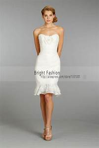 popular white short wedding reception dresses buy cheap With short wedding reception dress