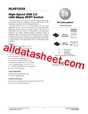Nlasa Datasheet Pdf Semiconductor High Speed