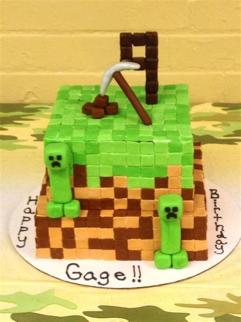 minecraft birthday cake decorations minecraft cake ideas