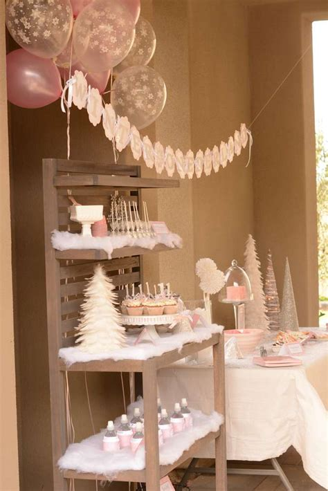 Winter Onederland Birthday Party Ideas  Photo 1 Of 67