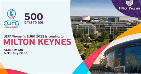 Women's finals will begin aug.1 to end on aug.2. UEFA Women's Euro 2022 - Milton Keynes gets ready to host ...