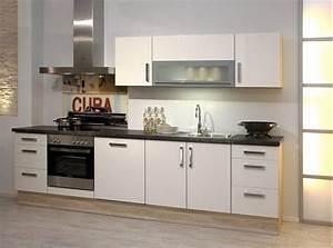 Küchen Mit Elektrogeräten Günstig : k chenzeilen wei ~ Bigdaddyawards.com Haus und Dekorationen
