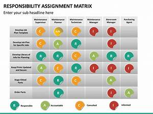 Project Assignment Template Responsibility Assignment Matrix Powerpoint Template