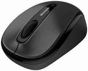 Wireless Microsoft Computer Mouse transparent PNG - StickPNG