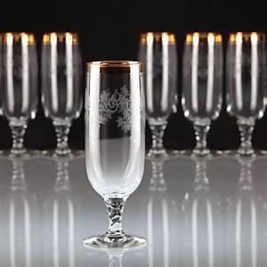 Wassergläser Mit Stiel : 166 besten sch ne trinkgl ser gl ser mit goldrand bilder auf pinterest ~ Buech-reservation.com Haus und Dekorationen