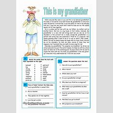 22 Best Images About Esl Level 1 Reading Comprehension On Pinterest  My Name, In The Present