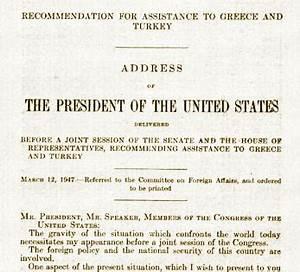Truman doctrine essay long term goal essay truman doctrine essay pdf ...