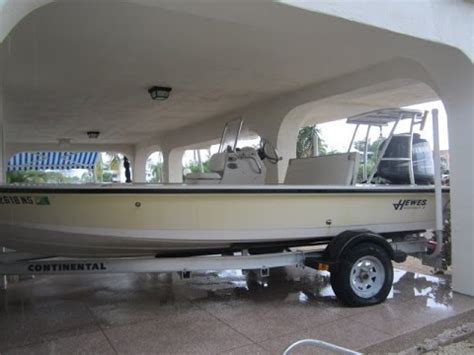 Used Hewes Flats Boats For Sale by Used 18 Hewes Redfisher Flats Boat For Sale Key Largo
