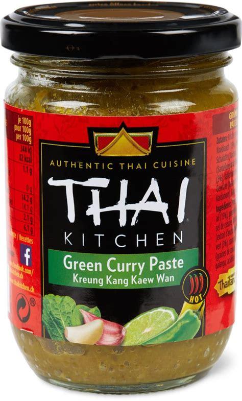 thai kitchen green curry paste thai kitchen gr 252 ne curry paste migros 8444