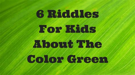 color riddles color riddles riddles for
