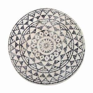 Berber Teppich Rund : hk living teppich l ufer berber mit fransen baumwolle schwarz wei rautenmuster 180x280cm ~ Indierocktalk.com Haus und Dekorationen