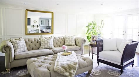 and in livingroom white gold my living room update