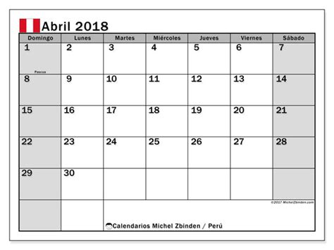 calendario abril peru michel zbinden es