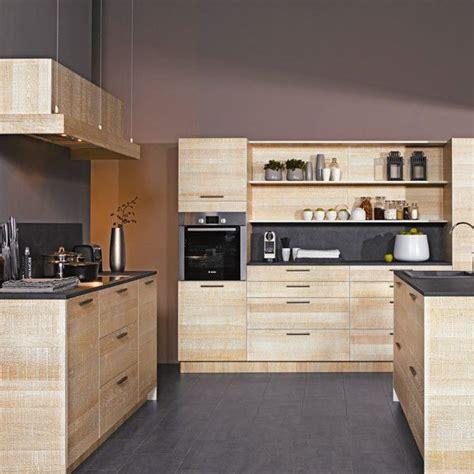 cuisine bois clair cuisine moderne couleur bois cuisine cuisine moderne en