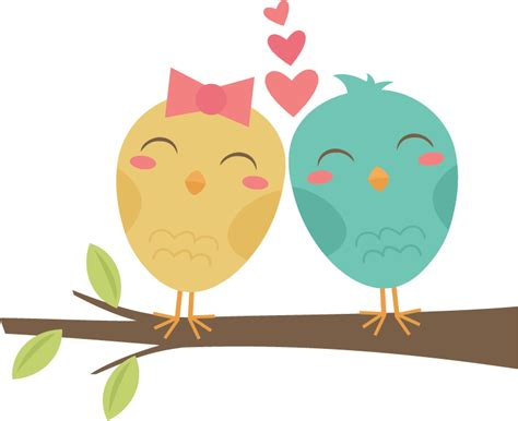 Love Birds Clip Art