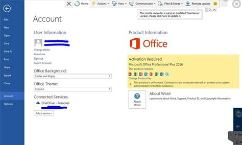 office 2016 applications activation required microsoft community