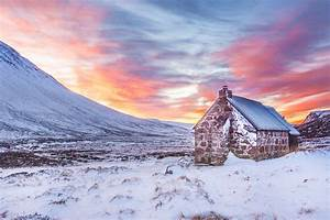 bothy, , cairngorms, , clouds, , cold, , cottage, , dawn, , frost