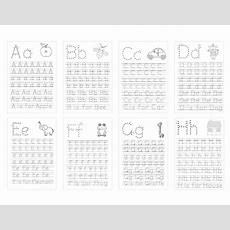 Personalised Kids Activity Tracing Book To Learn The Alphabet