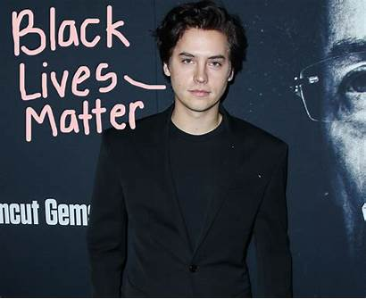 Cole Sprouse Arrested Protest His Hands Peaceful