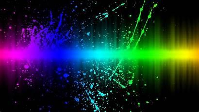 3d Abstract Explosion Colors Wallpapers Gaming Rainbow