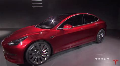 Cheapest All Electric Car by Tesla Model 3 Elon Musk Unveils Tesla S Cheapest Electric Car