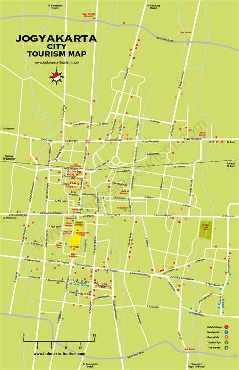 yogyakarta city map jogjakarta city map