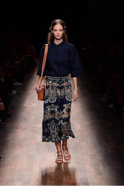Valentino Summer Models Spring Dresses Wear Paris