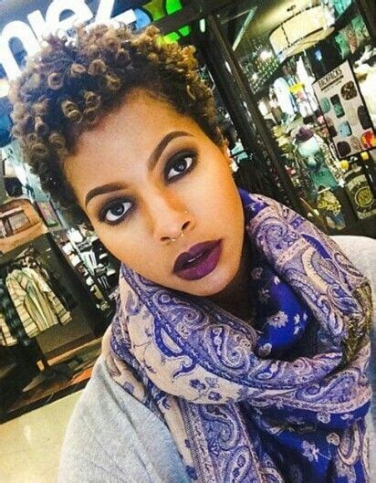 25 Colored Natural Hair Styles Dyed Natural Hair Photo