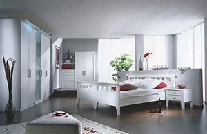 Schlafzimmer In Weiß Einrichten : schlafzimmer gestalten mit concept ~ Michelbontemps.com Haus und Dekorationen