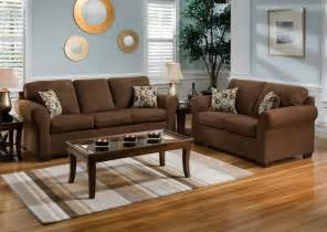 blue living room with brown furniture info home and