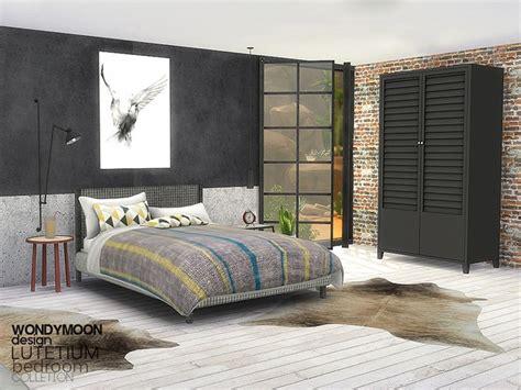 wondymoons lutetium bedroom sims  bedroom sims house