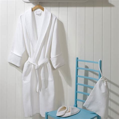 Bath Gown & Bathroom Slippers   Hotel Textile Products