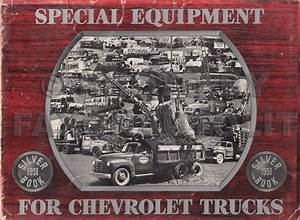 1951 Chevrolet Pickup  U0026 Truck Reprint Owner U0026 39 S Manual