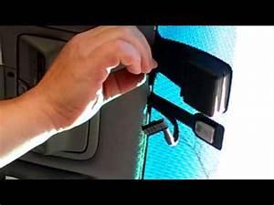Remove Rear View Mirror And Rain Sensor - Lexus