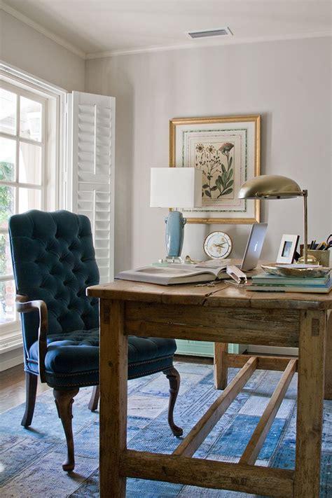 farmhouse style desk 20 farmhouse home office design ideas interior god