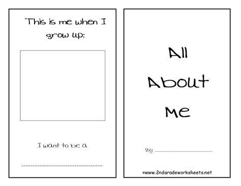 Free Back To School Worksheets And Printouts All About Me Worksheet School Exercises