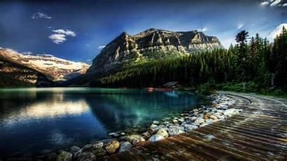 Hdr 4k Wallpapers Canada Lake Louise Alberta