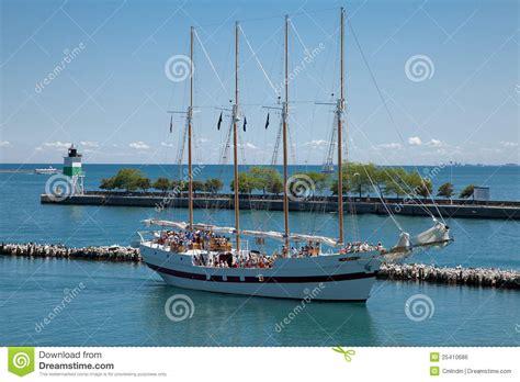 Boat Rides At Navy Pier sailboat ride at chicago navy pier editorial photo image