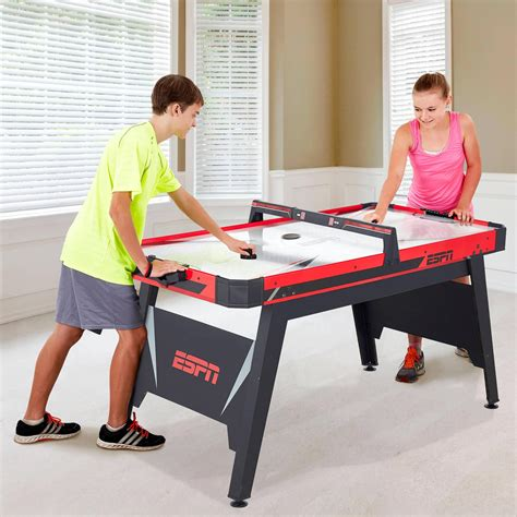 black friday deals on air hockey tables walmart espn 60 quot air powered hockey table better than