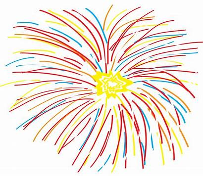 Clipart Fireworks Clip Svg Firework Colorful Abstract