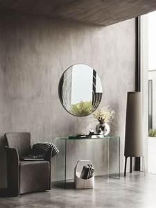 Runder Spiegel Groß : cb5074 lune moderner runder spiegel connubia calligaris ~ Whattoseeinmadrid.com Haus und Dekorationen